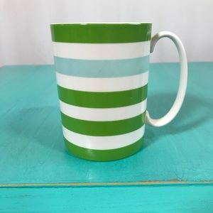 NEW Kate Spade Lenox Morning Mantras Stripe Mug